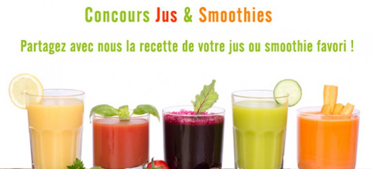 Concours «Jus et Smoothies»