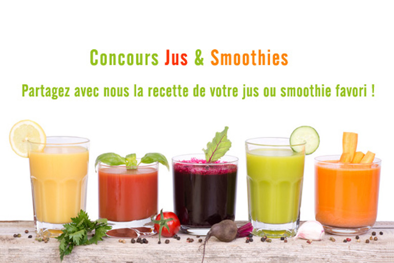 Concours Jus et smoothies