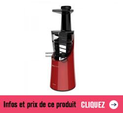 Prix et infos sur l'extracteur de jus Juicepresso