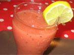 Recette de smoothie aux fraises, kiwi et pastèque