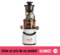 Prix et infos sur l'extracteur de jus Nutrijus PJ552