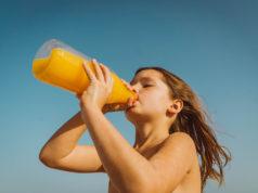 Jus de fruit pour les enfants