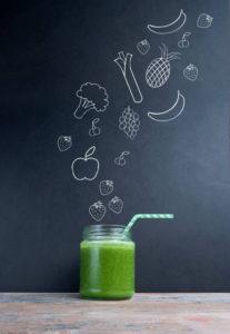 Recette smoothie vert à l'extracteur de jus