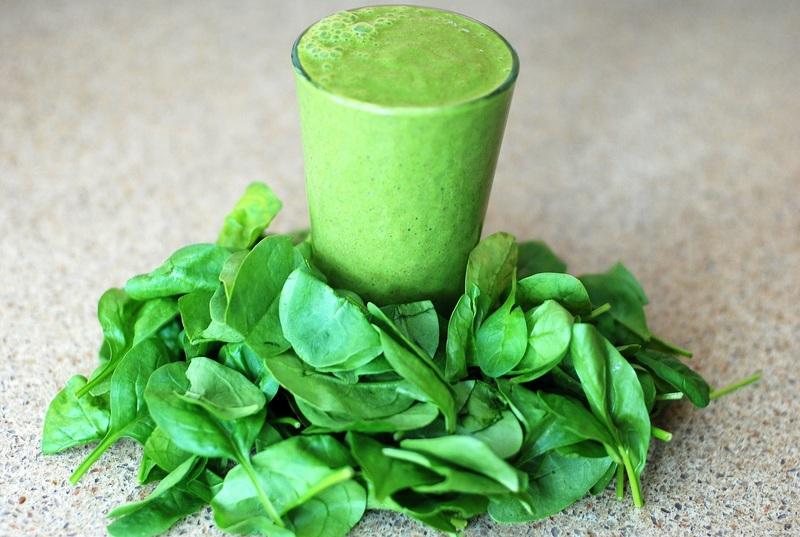 Green smoothie detox avec Vitamix
