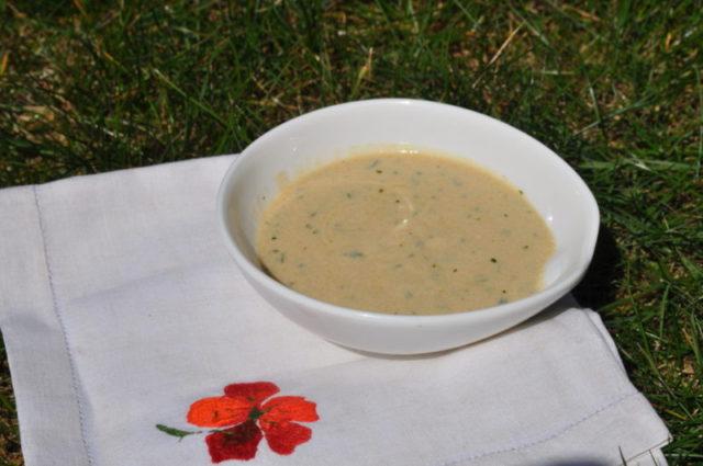 sauces légères à base de légumes