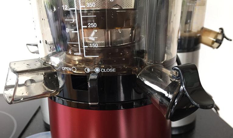 Levier de réglage de l'extracteur de jus Huro HG2