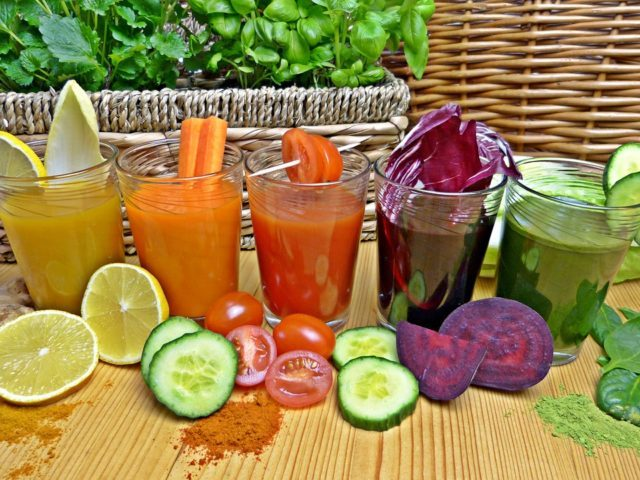 jus de légumes détox