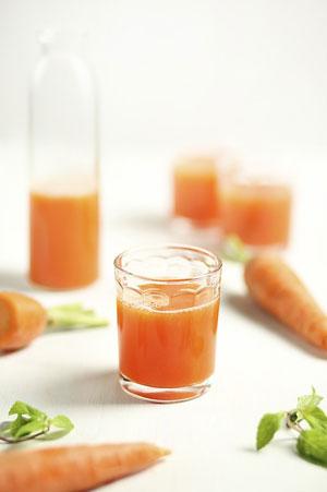 Jus de légume : carotte