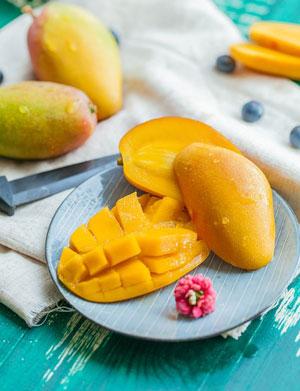 Mangue et vitamine