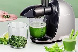 Jus de légumes vert bon pour la santé